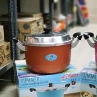 Harga maspion summer alcor roller coating steamer dandang masak 24 | antitipu.com