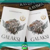Novel GALAKSI (Poppi Pertiwi) Edisi TTD penulis dan bonus sticker