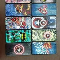 CASE / KESING / SARUNG HP OPPO A3S/A5 GAMBAR SUPER HERO + POPSOKET