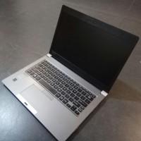 laptop toshiba portage Z30-A core i7 gen 4 ram 8 gb ssd 512 gb mantap