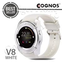BARANG BARU Cognos Smartwatch DZ11 - GSM V8 - White READY STOCK