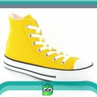 Sepatu Converse All Star Kuning Tinggi High
