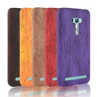 Soft Case Casing hp untuk Asus ZenFone Selfie ZD551KL Custom Wood