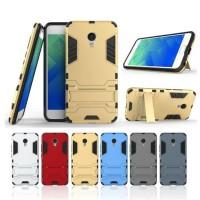 Case Holder hp untuk Meizu M5 Premium Stand Silikon   PC case