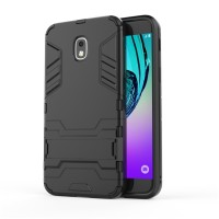 Case Holder hp untuk Samsung Galaxy J3 2018 Premium Stand Silikon   PC