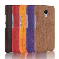 Soft Case Casing hp untuk Meizu A5 M710M M5c Custom murah Wood color