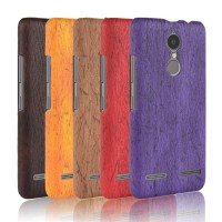 Soft Case Casing hp untuk Lenovo K6 Power Custom murah Wood color case