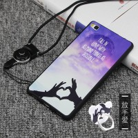 Custom Case Premium Hard Atau Soft For Huawei P10 Lite Ring Stand hp/