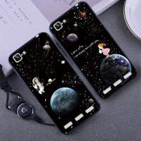 2in1 Soft Cute Star Case untuk Vivo X5 Max Strap Premium hp Flower