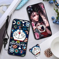 2in1 Premium Soft Cute Cat Case untuk Vivo Xplay 6 string hp Casing
