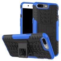 Case Holder hp untuk OnePlus 5 Silikon   PC Tire Stand case