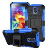 Case Holder hp untuk Samsung Galaxy S5 Mini Silikon   PC Tire Stand