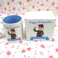 Custom Gelas Dalam Warna + Box Print Bsia Satuan