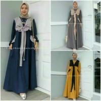 Harga baju nissa sabyan gamis wanita busana muslim wanitaabie maxy pita   antitipu.com