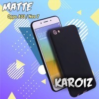 Case Slim black Matte Oppo A33 Baby Skin Softcase