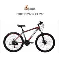Best seller EXOTIC 2635 XT MTB 26 ALLOY FRAME Sepeda Gunung Terbaik
