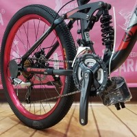 Best seller PACIFIC OVERRIDE MTB 26 INCH SUSPENSI Sepeda Gunung Terb