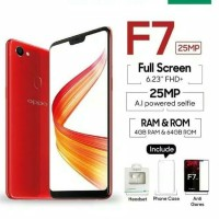 HP OPPO F7 ram 4GB / ROM 64GB octacore camera 25MP