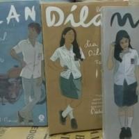 Buku paket 3 novel dilan 1990. dilan 1991, milea