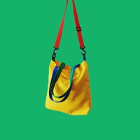 Sling Bag Tote Bag Warna Kuning Mebo Mesh Pack Aneeyone