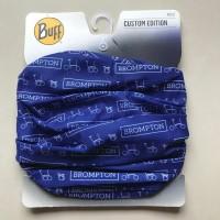 Jual Brompton Buff Masker Sepeda Custom Edition Biru