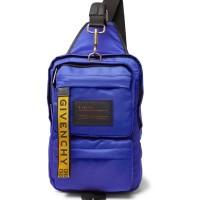 GIVENCHY ROYAL BLUE SHELL SHOULDER BAG ORIGINAL   TAS GIVENCHY