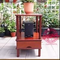 Furniture - Simplicity - Bookshelf 2 Layer Sq Rack Model 3 (CB)