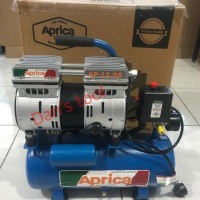 Mesin Kompressor Udara / Mesin Kompressor Angin OILLESS 3/4HP x 12 LTR