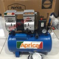 Mesin Kompressor Udara / Mesin Kompressor Angin OILLESS 1HP x 24 Liter