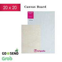 Kanvas Board /Kanvas Lukis 20 X 20 cm / Canvas Board 20 x 20 cm