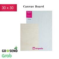 Kanvas Board /Kanvas Lukis 30 X 30 cm / Canvas Board 30 x 30 cm