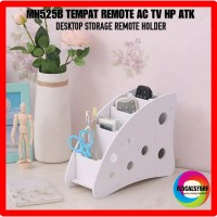 Jual Desktop Storage Remote Holder MH525B Tempat Remote AC TV HP ATK POLKA Murah