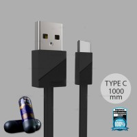 Remax Blade Kabel USB Type C - RC-105a - Black