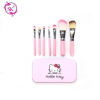 KITTY BRUSH KALENG 7 in 1 / kuas hello kitty set / make up brush