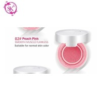 Peach Pink 02 - BIOAQUA Blush on Cushion Flawless Cheek