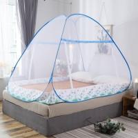 KL6180 Kelambu Tempat Tidur 180 x 200cm Bed canopy SUMMER BLUE