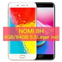 HANDPHONE MURAH ORIGINAL NOMI RAM 4GB / 64GB GARANSI PROMO HP MURAH
