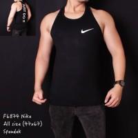 Singlet Tanktop Pria Pria Nike Just Do It Hitam F6974