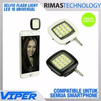 Lampu Selfie Flash Light LED 16 Universal HP Smartphone Android Ipho
