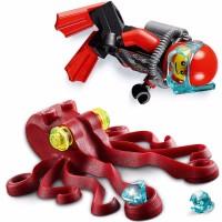 Terlaris Lego City Deep Sea Scuba Scooter 60090 Mainan Anak Kecil Be
