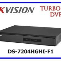 DVR HIKVISION 4CH / 4 CHANNEL DS-7204HGHI-F1 ORIGINAL