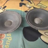 2buah speaker komponen 15 inch bukan ACR fabulous rcf jbl black spider