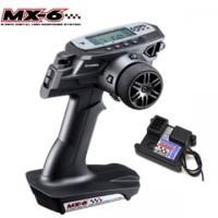 Sanwa MX-6 2.4GHz FH-E 3-Channel Tx Radio System w/ RX-391W 3-Channel