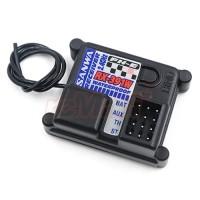 Sanwa RX-391W FH-E 2.4GHz 3-Channel Waterproof Receiver
