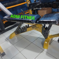 Sit up bench adjustable, Bangku bench press, kursi fitness
