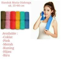 Handuk Olahraga Mutia Mat Cotton Ukuran 30x70 Premium Quality Casual