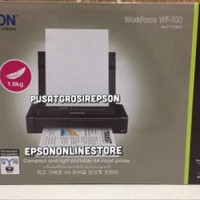 Epson WorkForce WF-100 Portable Mobile Printer Oke