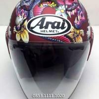 Arai Oriental SZ-Ram4 Half face Helmet clone 99% mirip ori