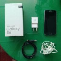 Samsung galaxy S6 flat - second 2nd - black hitam - ex sein