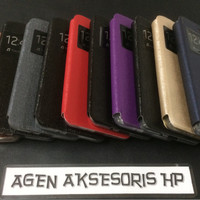 GARANSI Flip Cover Andromax A Smartfren Leather Case / Sarung HP